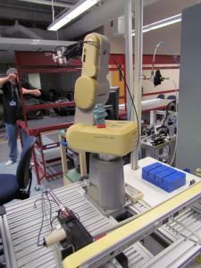 PLC, Robotics and Mechanical Lab 1
